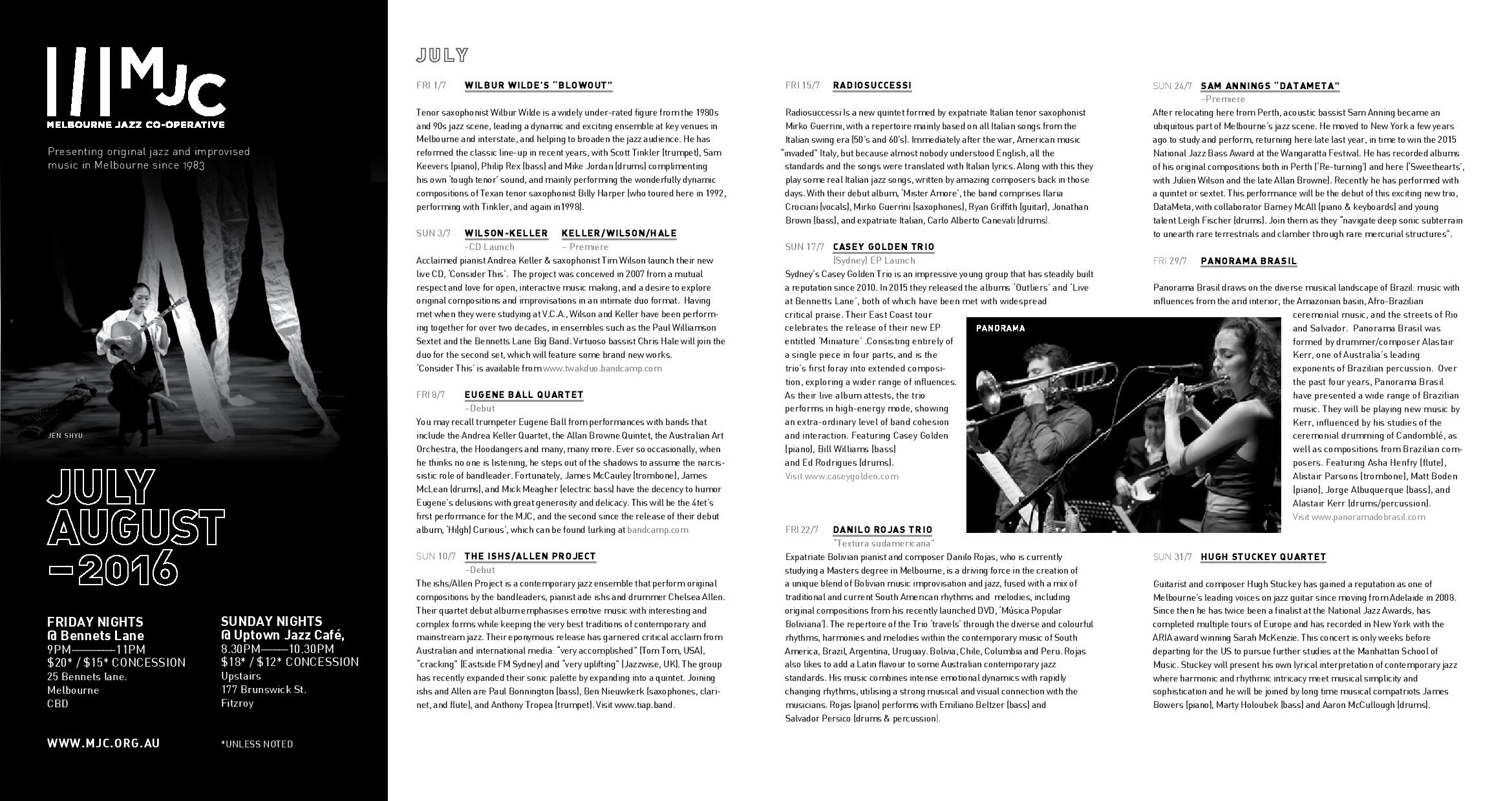 Download July-August gigs