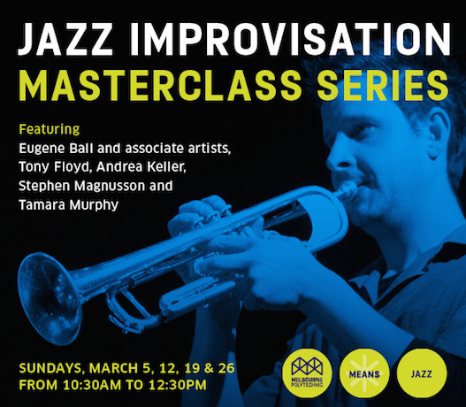 Melbourne Polytechnic Jazz Masterclass Series