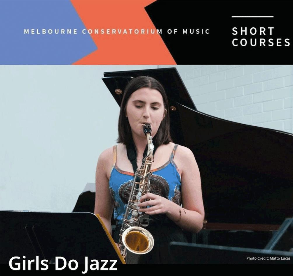 'Girls do jazz' – course